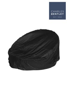 Deluxe Black Rattan Day Bed Cover By Charles Bentley