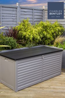 490L Large Outdoor Plastic Storage Box By Charles Bentley
