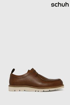 Schuh Tan Paxton Moxx Toe Shoes