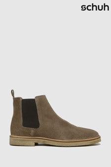Schuh Natural Owen Suede Chelsea Boots