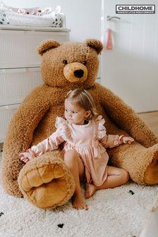 Sitting Big Teddy Bear By Childhome