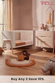 Torsten 2 Piece Cot Bed and Dresser Set By Troll