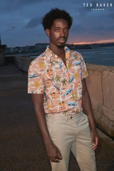 Ted Baker Udon Camp Collar Shirt