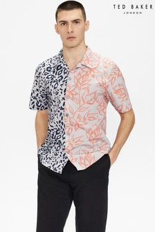 Ted Baker Bakdrop Mixed Print Shirt