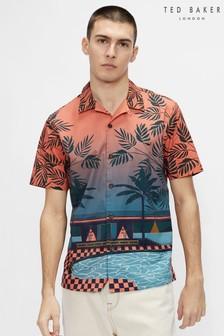 Ted Baker Shiip Pool Print Shirt