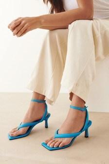 Signature Padded Toe Post Sandals