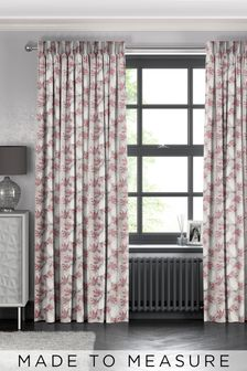 Red Senses Made To Measure Curtains