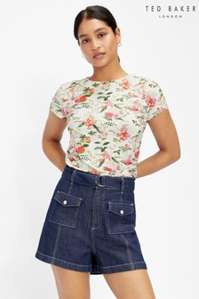 Ted Baker Appll Metropolis Fitted T-Shirt