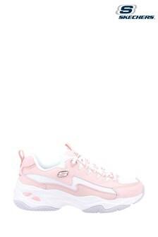 Skechers Pink D'Lites 4.0 Sport Shoes