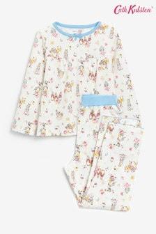 Cath Kidston Kids Peter Rabbit Ditsy Long Sleeve Jersey Pyjamas