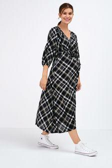Maternity Tie Waist Dress