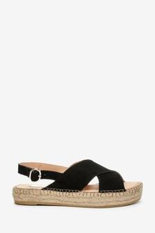 Steven NY Black Marlie Sandals