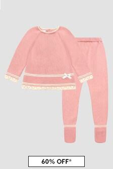 Paz Rodriguez Baby Girls Pink Set