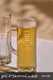 Personalised Nova Beer Glass
