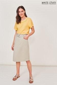 White Stuff Grey Teakie Skirt