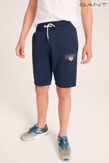 GANT Teen Boys Sporty Shield Sweat Shorts