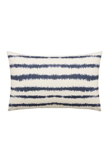 Set of 2 Himeya Blue Blackwork Pillowcases