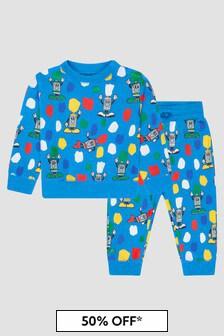 Stella McCartney Kids Baby Boys Blue Tracksuit