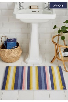 Joules Summer Stripe Bath Mat