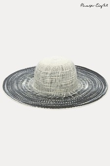 Phase Eight Tali Multi Stripe Straw Hat