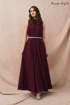 Phase Eight Red Nicola Maxi Dress