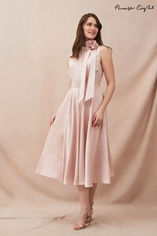 Phase Eight Pink Elsie Corsage Dress
