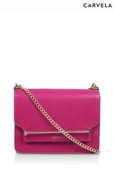 Carvela Pink Lola Cross-Body Bag