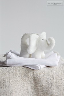 The White Company Indy Elephant Rattle