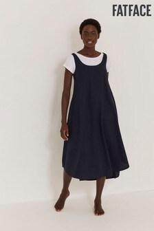 FatFace Luna Linen Blend Dress