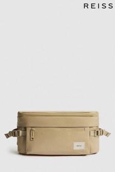 REISS Lennox Nylon Belt Bag