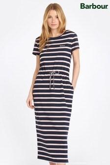 Barbour® Coastal Navy Bayside Striped Dress