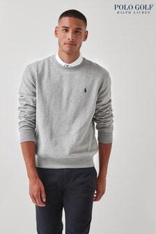 Polo Golf by Ralph Lauren Grey Crew Neck Sweatshirt