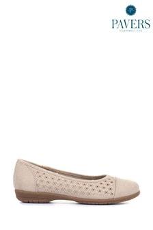 Pavers Ladies Flat Shoes