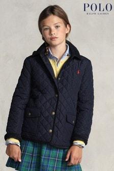 Polo Ralph Lauren Navy Logo Padded Jacket