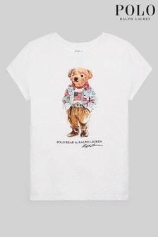 Ralph Lauren White Bear T-Shirt
