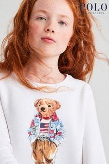 Ralph Lauren White Bear Sweatshirt