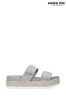Miss KG Grey Belize2 Sandals