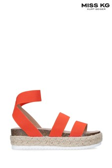 Miss KG Orange Eme Sandals