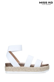 Miss KG White Eme Sandals