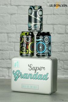 Super Grandad Pale Ale Gift Tin by Le Bon Vin