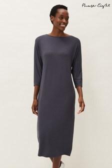 Phase Eight Grey Delmi Jersey Maxi Dress