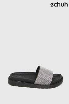 Schuh Tessa Embellished Sliders