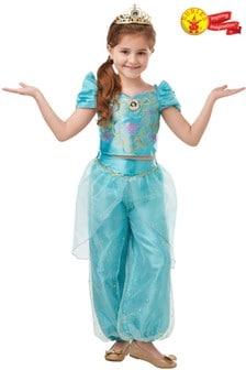 Rubies Glitter And Sparkle Disney Princess Jasmine Fancy Dress Costume