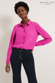 Damsel In A Dress Purple Asha Shirt