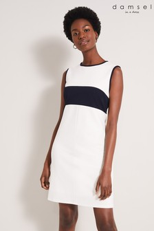 Damsel In A Dress Cream Zarian Colourblock Dress