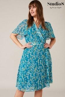 Studio 8 Blue Lily Ditsy Printed Dress