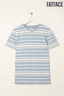 FatFace Blue Fawley Stripe T-Shirt