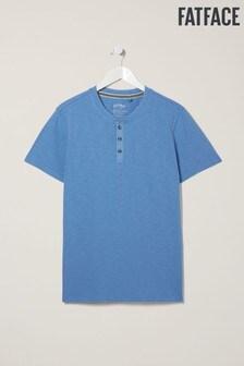 FatFace Slub Henley T-Shirt
