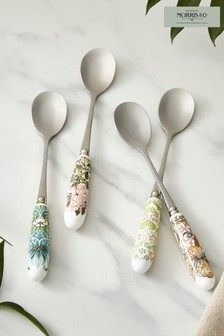 Set of 6 Morris & Co. Teaspoons Cutlery Set