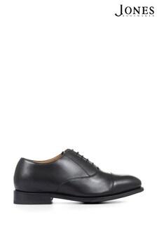 Jones Bootmaker Black Wade Goodyear Welt Wide Men's Oxford Shoes